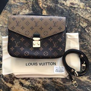Handbags - LV Reverse Pochette Métis